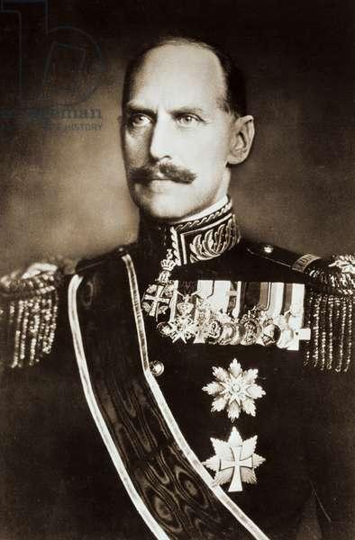 HAAKON VII (1872-1957) King of Norway, 1905-1957. Norwegian photograph, c.1905-1910.