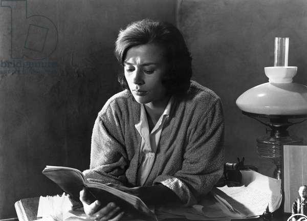 THROUGH A GLASS DARKLY Harriet Andersson in a scene from 'Through a Glass Darkly,' directed by Ingmar Bergman, 1961.
