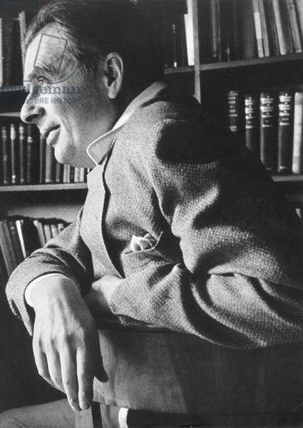 ALDOUS HUXLEY (1894-1963) English writer.