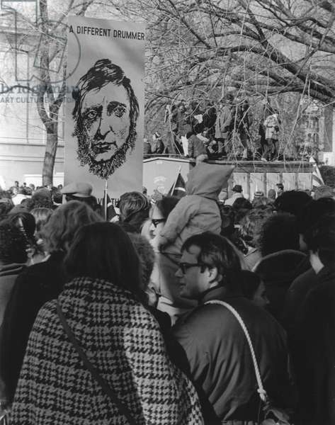 ANTI-WAR PROTEST, 1969 Protesters demonstrate on the Mall in Washington, D.C., against the war in Vietnam on 15 November 1969.