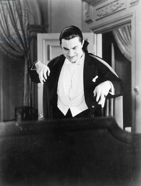 BELA LUGOSI AS DRACULA Bela Lugosi in Tod Browning's film version of 'Dracula,' 1931.