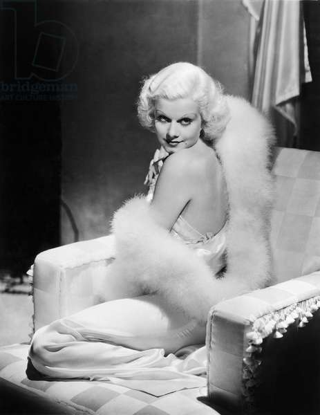 JEAN HARLOW (1911-1937). American cinema actress.