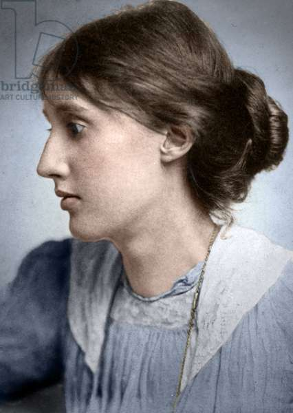 VIRGINIA WOOLF (1882-1941) English writer. Photograph by George Charles Beresford, 1902.