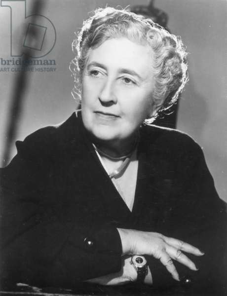AGATHA CHRISTIE (1891-1976) English writer.