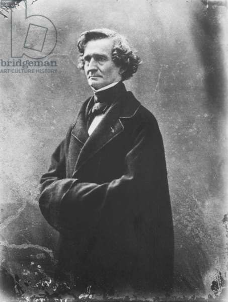 HECTOR BERLIOZ (1803-1869). French composer. Photographed c. 1863 by Nadar.