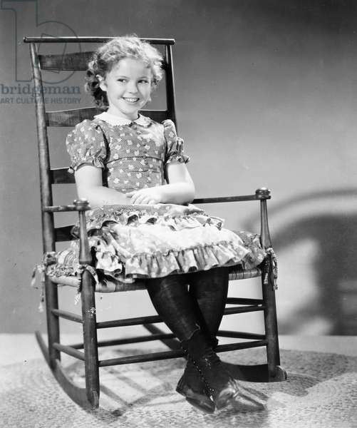SHIRLEY TEMPLE (1928-2014) American child film actress. Photograph, 1939.