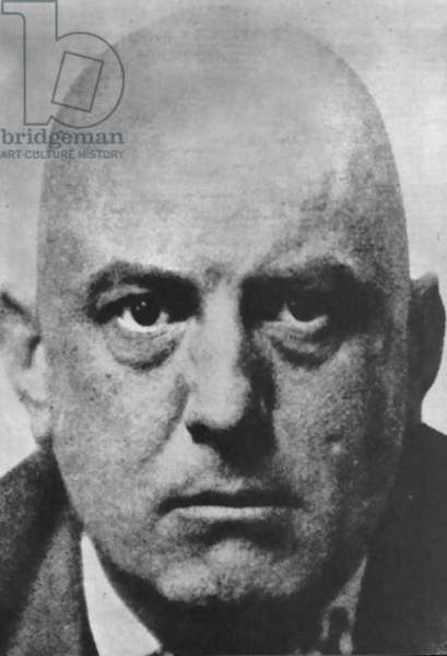 ALEISTER CROWLEY (1875-1947) English mystic and mountaineer.