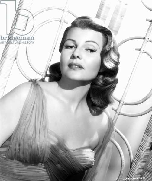 RITA HAYWORTH (1918-1987) Nee Margarita Cansino. American cinema actress and dancer.