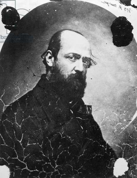 HENRI MURGER (1822-1861) French writer. Photographed c.1854 by Nadar, his close friend.