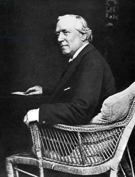 HERBERT HENRY ASQUITH (1852-1928). 1st Earl of Oxford and Asquith. English statesman. Photographed c.1913.