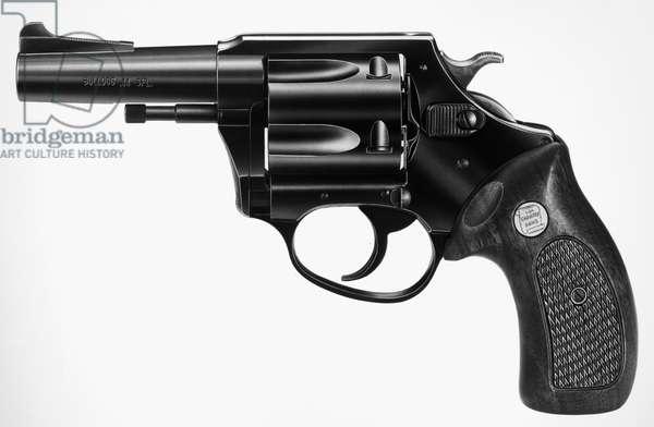 REVOLVER, 20th CENTURY Charter Arms 'Bulldog' .44 special revolver. Photograph, 1970s.