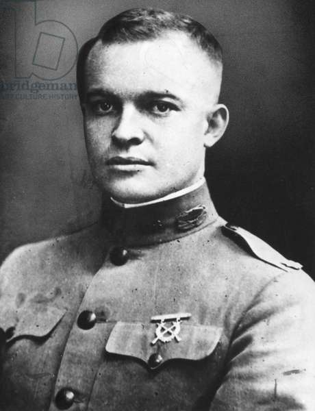 DWIGHT D. EISENHOWER (1890-1969). 34th President of the United States. Eisenhower as a Lieutenant Colonel during World War I, 1918.