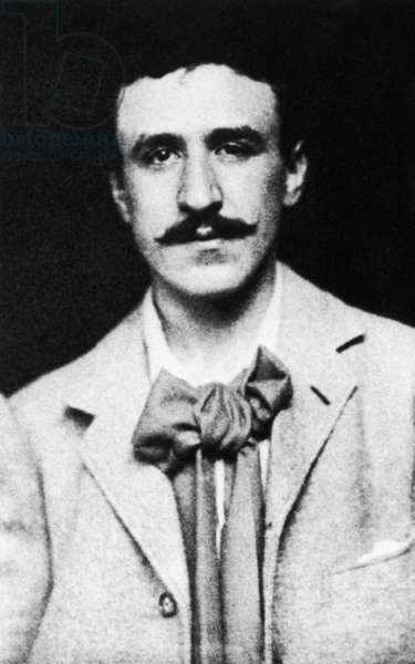 CHARLES RENNIE MACKINTOSH (1868-1928). Scottish architect, designer and painter. Photograph, c.1900.
