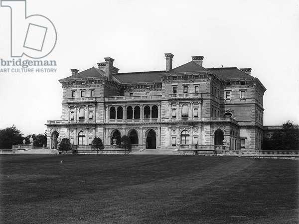 NEWPORT: VANDERBILT HOME The Breakers, the summer residence of Cornelius Vanderbilt II in Newport, Rhode Island. Photograph, c.1904.
