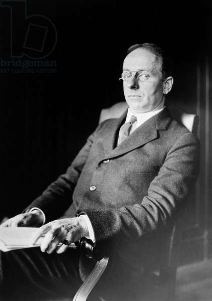 JAMES ROWLAND ANGELL (1869-1949). American educator and psychologist. Photographed c.1920.