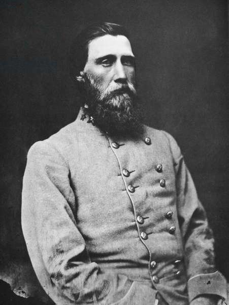 JOHN BELL HOOD (1831-1879) American army officer. Photographed while in Confederate service during the American Civil War.