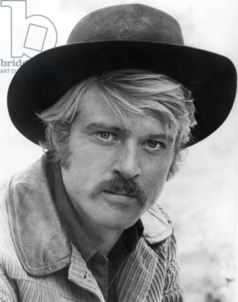 ROBERT REDFORD (1936-) American cinemactor. As the Sundance Kid in 'Butch Cassidy and the Sundance Kid,' 1969.