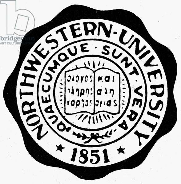 NORTHWESTERN UNIVERSITY Seal of Northwestern University at Illinois.