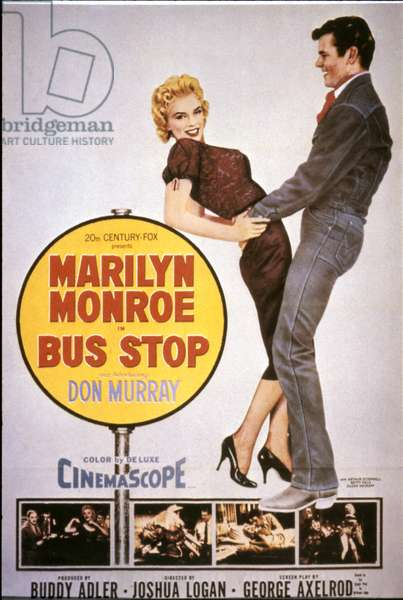 MARILYN MONROE: BUS STOP Poster, 1956.