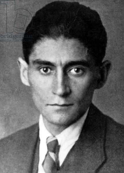 FRANZ KAFKA (1883-1924) Czech writer.