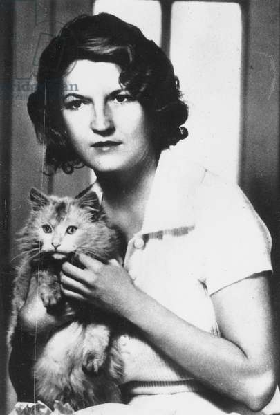 ZELDA FITZGERALD (1900-1948). Zelda Sayre Fitzgerald. American writer and wife of F. Scott Fitzgerald (1896-1940).