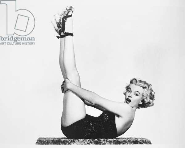 MARILYN MONROE (1926-1962) American cinema actress.