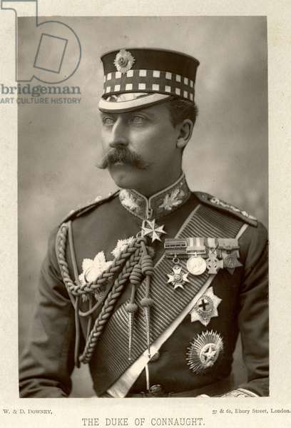 ARTHUR, DUKE OF CONNAUGHT (1850-1942). British prince and soldier.