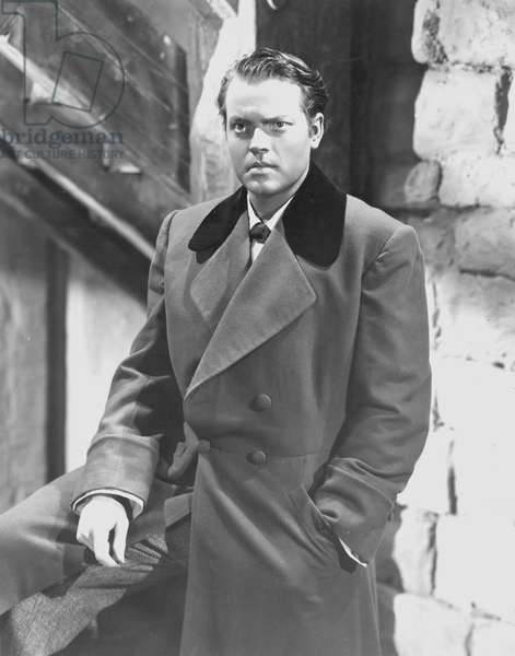ORSON WELLES (1915-1985) In Jane Eyre, 1944.
