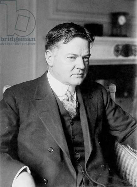 HERBERT CLARK HOOVER (1874-1964). 31st President of the United States. Photographed in 1928.
