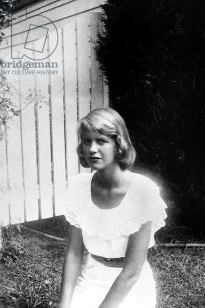 SYLVIA PLATH (1932-1963) American poet and novelist.