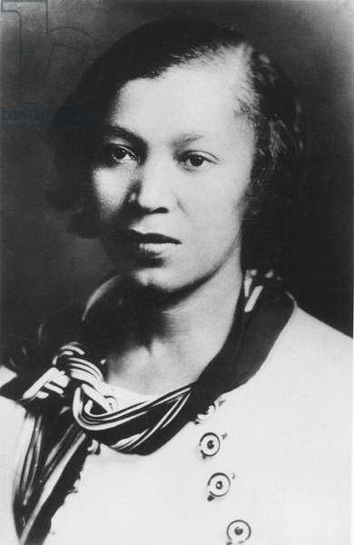ZORA NEALE HURSTON (1901-1960). American writer and anthropologist.
