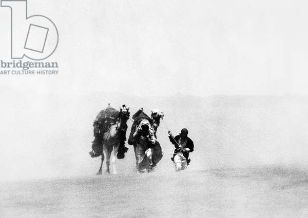 LAWRENCE OF ARABIA, 1962 Film still.