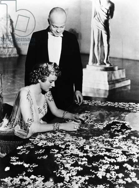 CITIZEN KANE, 1941 Charles Foster Kane, played by Orson Welles, who also directed the film, and his wife, Susan Alexander Kane (Dorothy Comingore) alone in their vast home.