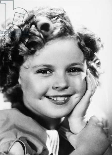 SHIRLEY TEMPLE (1928-2014). American actress. Photographed 1939.