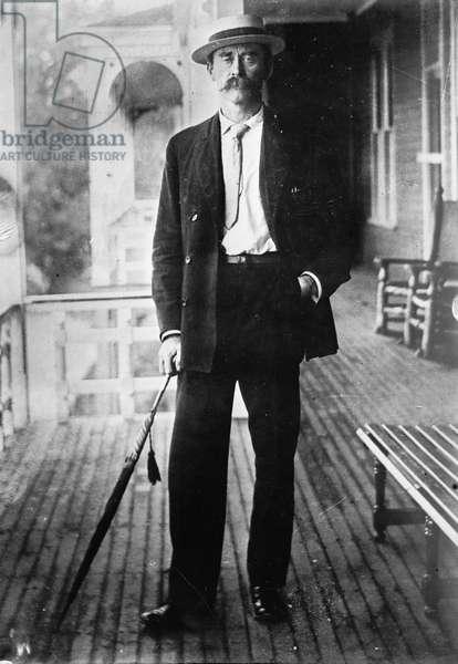 ROBERT PEARY (1856-1920) American Arctic explorer. Photograph, c.1915.
