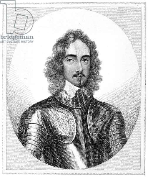 THOMAS FAIRFAX (1612-1671) Third Baron Fairfax of Cameron. English Parliamentary commander. Stipple engraving, English, 18th century, after a painting by Robert Walker.