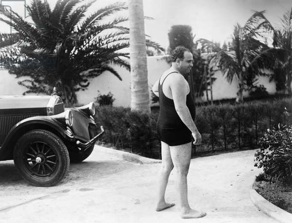 AL CAPONE (1899-1947) American gangster. Photograph, c.1929.