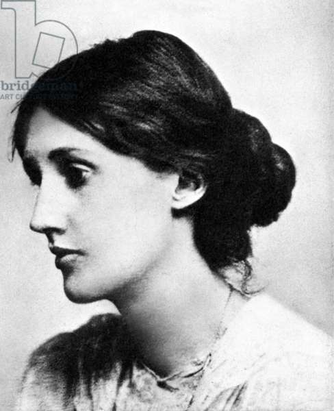 VIRGINIA WOOLF (1882-1941) English writer. Photographed in 1903.