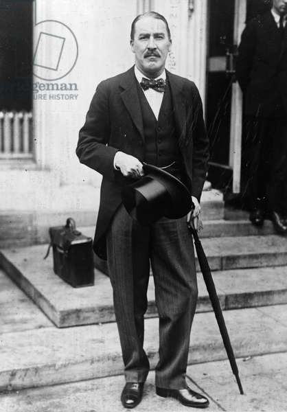 HOWARD CARTER (1873-1939) English archaeologist. Photographed at the White House, May 1924.
