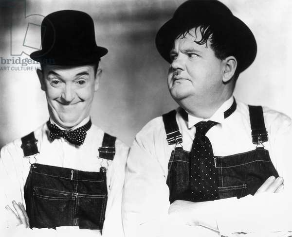 LAUREL AND HARDY Stan Laurel (left) and Oliver Hardy.