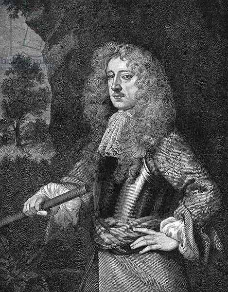 BARON SHAFTESBURY (1621-1683). 1st Baron and Earl of Shaftesbury, Anthony Ashley Cooper. English statesman. Wood engraving after Sir Peter Lely.