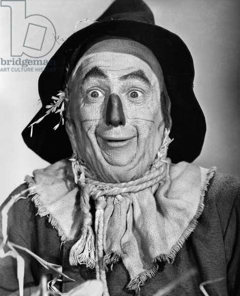 WIZARD OF OZ, 1939 Ray Bolger as the Scarecrow in the 1939 MGM production of 'The Wizard of Oz.'