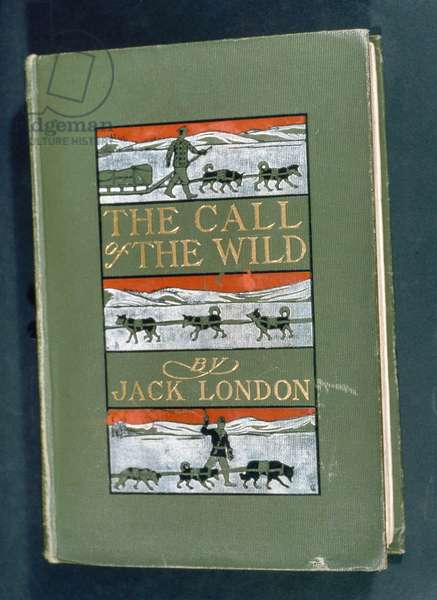 THE CALL OF THE WILD, 1903 First edition of 'The Call of the Wild' by Jack London, 1903.