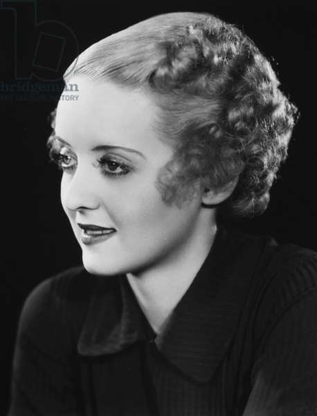 BETTE DAVIS (1908-1989) American actress.