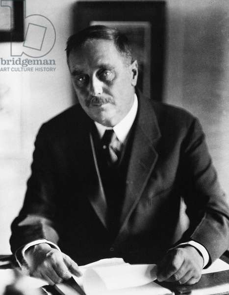 HERBERT GEORGE WELLS (1866-1946). English writer. Photographed in the 1920s by Nickolas Muray.