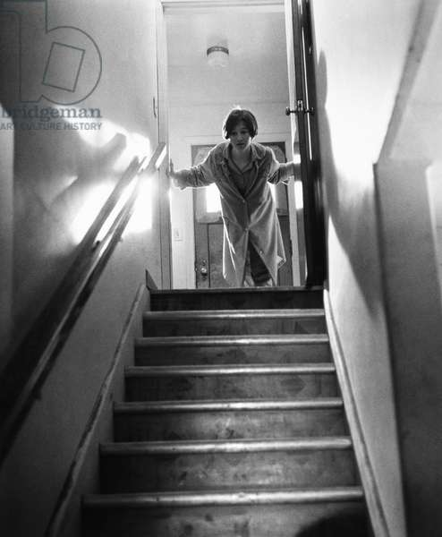 FILM: IN COLD BLOOD, 1967 The Clutter daughter, soon to be killed with her family, in a scene from 'In Cold Blood,' 1967, based on Truman Capote's book of the same name and directed by Richard Brooks.