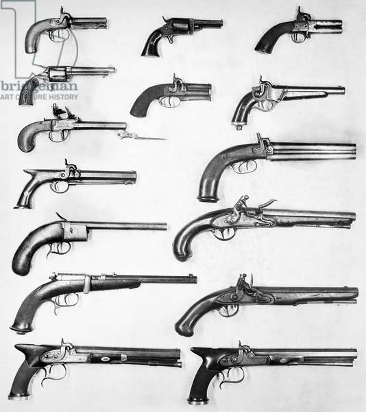 PISTOL AND REVOLVERS.