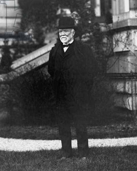 ANDREW CARNEGIE (1835-1919). American industrialist.