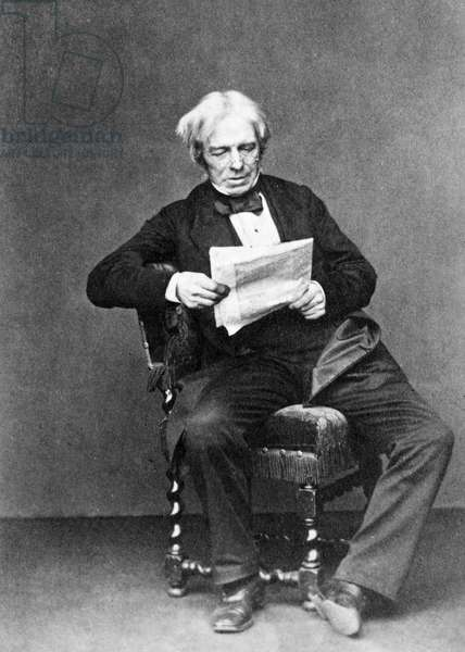 MICHAEL FARADAY (1791-1867). English chemist and physicist.