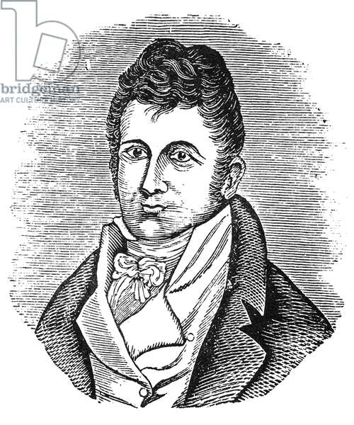 WILLIAM CLARK (1770-1838) American explorer. Wood engraving, 1811, from the account of Patrick Gass, a member of the Lewis and Clark expedition.